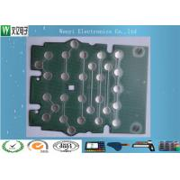 Buy cheap Metal Dome PET Flex Circuit Polyimide Circuit Board 10mm 5 Dimple For Bank Use product