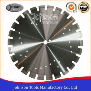 Buy cheap Standard 450mm Asphalt Saw Blades Wide U Slots Laser Welded Diamond Saw Blades product