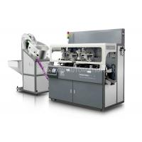 Gray Fully Automatic Screen Printing MachineChain - Type 0.6Mpa Compressed Air