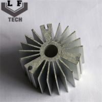 Buy cheap Round High Precision Forging Aluminum Heat Sinks 110 Diameter For LED PCB COB from wholesalers