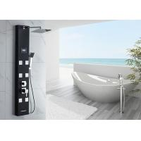 Buy cheap Stainless Steel Shower Panel System 4 Functions With Height Adjustable Shower Arm product