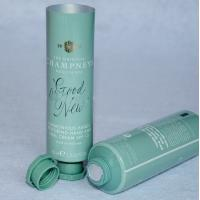 Buy cheap 200ml PE Empty Cosmetic Tubes , Moistening Cleansing Milk Plastic Cream Tubes product