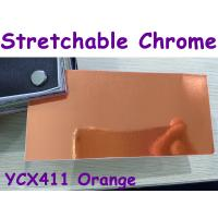 Buy cheap Stretchable Chrome Mirror Car Wrapping Vinyl Film - Chrome Orange product