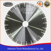 Quality No Noise Diamond Stone Cutting Blades Various Size For Marble / Sandstone for sale