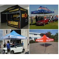 Buy cheap Promotional large strong pop up gazebo , customized outdoor gazebo tent advertising product