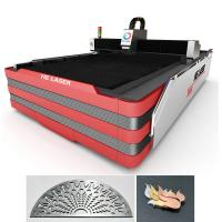 Buy cheap 700 Watt Stainless Steel Fiber Laser Cutting Machine 0.2mm - 10mm Cutting Thickness product