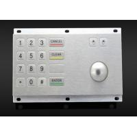 Buy cheap Kiosk vending machine keypad with stainless steel trackball, with short key stroke product
