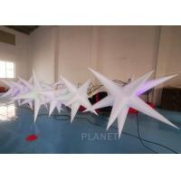 Buy cheap Oxford Cloth LED Inflatable Star With Color Light For Event Decoration product