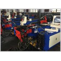 Buy cheap PLC Control Electric Pipe Bending Machine with teo Axis driving Tube Bending Machine product