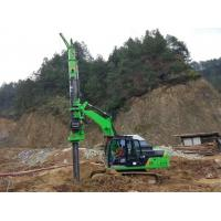 Quality Rotary Pile Foundation Equipment / Bored Hole Pile Driving Machine KR50A for sale