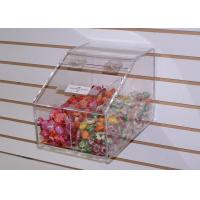 Buy cheap Durable Clear Acrylic Candy Display Cases With Scoop For Candies product