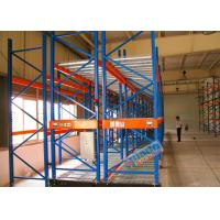 Buy cheap Motorized Heavy Duty Pallet Racks Electronically Powered Mobile Racking product