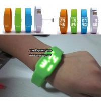 Buy cheap Wholesale Sport LED Watches,Silicone Rubber Touch Screen Led Digital Watch product
