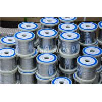 Buy cheap Customized Size Nicr Alloy Bright Flat Ribbon / Flat Wire Ni80Cr20 Material product