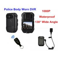Bluetooth 4G Body Worn Camera With Audio , Police Action Camera ABS Material