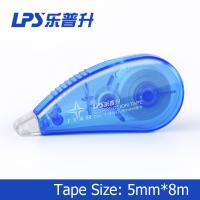 Buy cheap Flexible and smooth Mini Correction Tape Roller Blue Color 5mm*8m product