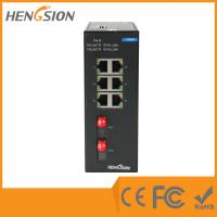 Buy cheap Unmanaged 8 Port / 10 Port Network Switch ,  802.3u Ethernet Fiber Switch product