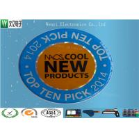 Buy cheap Self Stick Epoxy Membrane Switch Overlay , High Gloss Conductive Overlay For Logo product