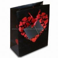 Buy cheap Promotional Gift Bag with PP/Cotton Rope, OEM Orders are Welcome product