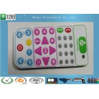 Buy cheap Control Keypad Flat Membrane Switch Keypad No Embossing With 0.20mm PET Overlay product