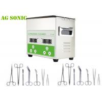 China Lab Ultrasonic Surgical Instrument Cleaner / Ultrasonic Medical Instrument Cleaner Benchtop on sale