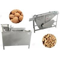 Buy cheap Automatic Black Walnut Cracking Machine Shelling Line Stainless Steel GELGOOG from wholesalers