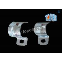 1/2 - 4 Inch ,  IMC Conduit And Fittings  Zinc Plated Steel conduit strap  / One Hole Conduit Pipe Clamp