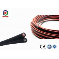 Buy cheap Double Protection Twin Core Electrical Cable 11mm OD High Flame Retardant Properties product