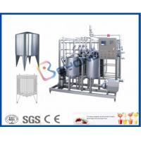 Buy cheap Plate Type Small Scale Pasteurization Equipment , Yoghurt Dairy Milking Equipment product