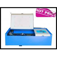 Buy cheap 3020 40W / 50W Desktop Small Laser Engraving Machine High Speed Water Cooling from wholesalers