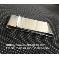 Buy cheap Dual Stainless Steel Money Clips for men, double sided steel money clips, product