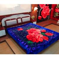 China 100% Polyester Raschel Blanket on sale
