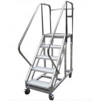 Buy cheap Durable Folding Aluminum Platform Ladder Aerial Work Used For Truck product