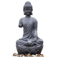 Buy cheap Large Zen Inspired Asian Buddha Water Fountain Water Features For Garden product