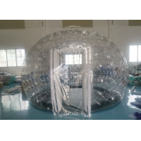 Buy cheap PVC Airtight Igloo Transparent Inflatable Dome Tent With Led Light product