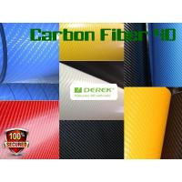 Buy cheap 4D Glossy & Shiney Carbon Fiber Vinyl Wrapping Films--colors for choose product