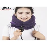 Buy cheap Inflatable Cervical Collar / Air Pump Cervical Traction Collar For Neck Brace product