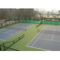 Green Colors PVC Coated Chain Link Fence For Sport Court Fence