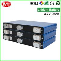 Buy cheap Rechargeable lithium ion battery cell 3.7 26AH for solar home energy storage product