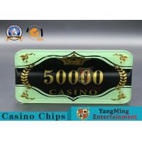Buy cheap Custom Ceramic Clay And Plastic Casino Poker Chips With Custom Logo product