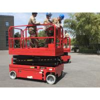 Buy cheap 12m working height plataforma elevadora self-propelled scissor lift aerial work from wholesalers