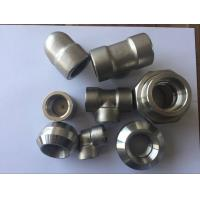 Buy cheap Super Duplex Stainless Steel Pipe Fittings S32750 2507 1.4410 ASTM A182 F53 Forged Elbow Tee Cross Pipe Cap product
