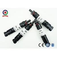 Buy cheap Anti - Aging MC4 PV Connectors With Diode Quick Connect For Field Installation product