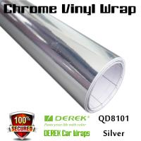 Buy cheap Chrome Mirror Car Wrapping Vinyl Film 3 layers - Chrome Silver product