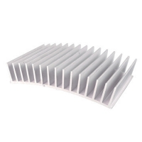 Buy cheap Anodized Silver Precision 6000 Series Radiator Aluminum Profiles product