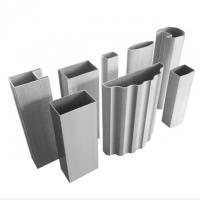 Buy cheap 0.4mm-20mm Thickness Aluminum Alloy Extrusion Profile For Industry Cnc product