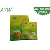 Buy cheap Food ingredient packaging Plastic PouchesMoisture Proof , Zip lock Bag Stand from wholesalers