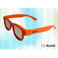 Buy cheap Adult RealD and Master Image Circular polarized 3D glasses with polarized lens product