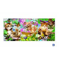 Buy cheap Wall Art 3D Lenticular Picture Flip Cute Cats And Dolphins With 12X17 Inches product