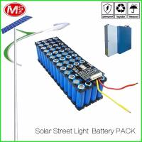 Buy cheap LifePO4 Cylindrical Lithium Ion Battery Pack / 12V 15Ah Solar Street Light Battery product